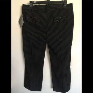 Pedal pusher dress pants